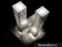 Футуристический небоскреб в Корее