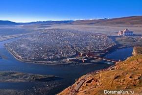 Китай. Монастырь Яшен в Тибете