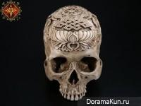 Китай. Ритуальные черепа.