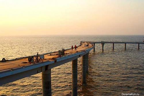 Китай. Мост Ханчжоу
