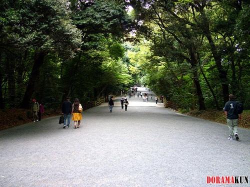 Япония. Парк Йойоги.