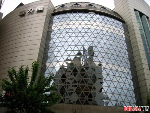 Япония. Парк-Студия телекомпании NHK.
