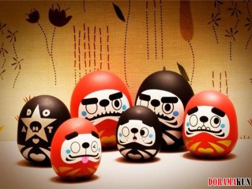 Япония. Ритуал Дарумы.