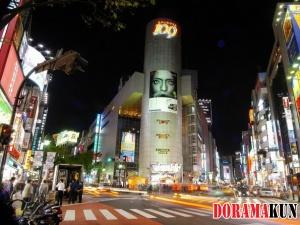 Япония. Сибуя. Токио.