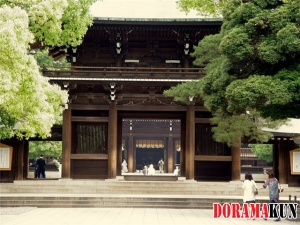 Япония. Храм Мэйдзи.
