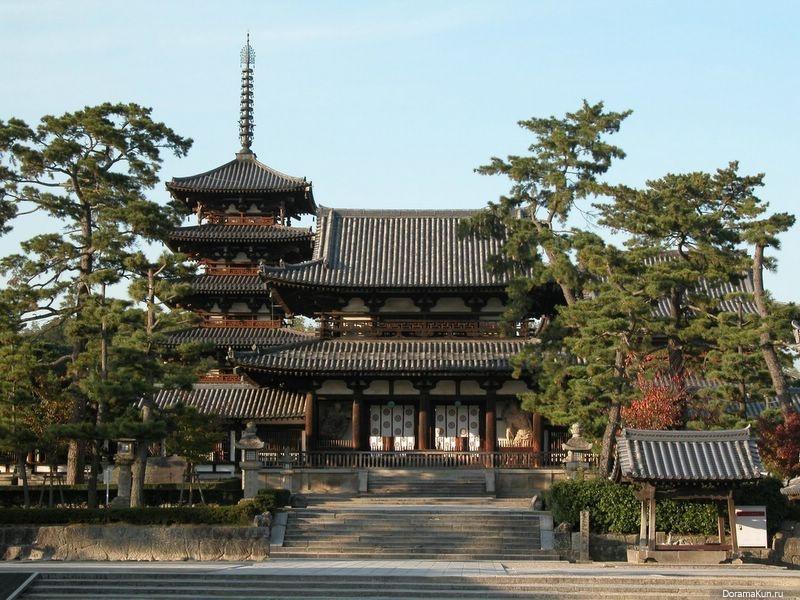 Хорю дзи яп 法隆寺 hōryū ji храм