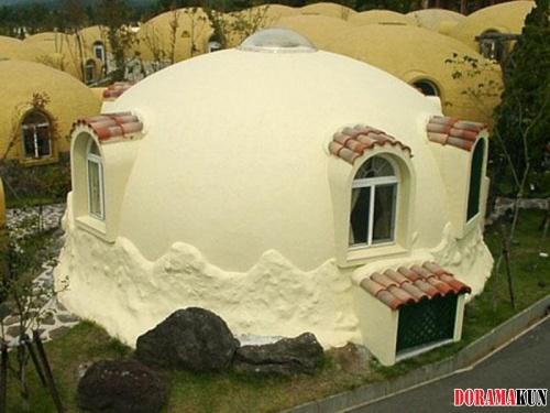 Японские дома-пузырьки