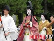 Япония. Дзидай Мацури. История.
