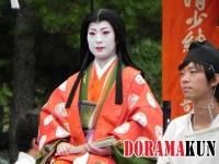 Япония. Дзидай Мацури. Парад.
