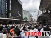 Праздник Гион Мацури, пожалуй, один из самых популярных в Киото. Его посещают около 800 тысяч человек.