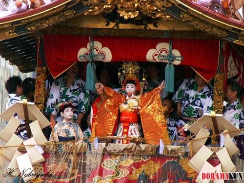 Япония. Фестиваль Гион Мацури.