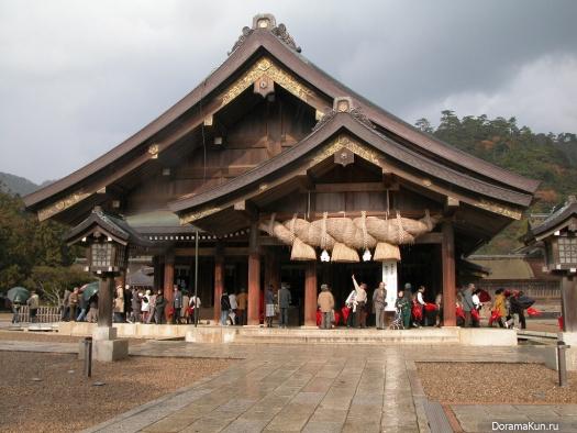 Япония. Храм Идзумо тайся.