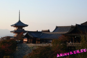 Япония. Киёмидзудэра (Храм чистой воды).