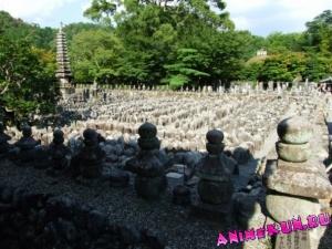 Япония. Небольшие храмы в Арасияма и Сагано.