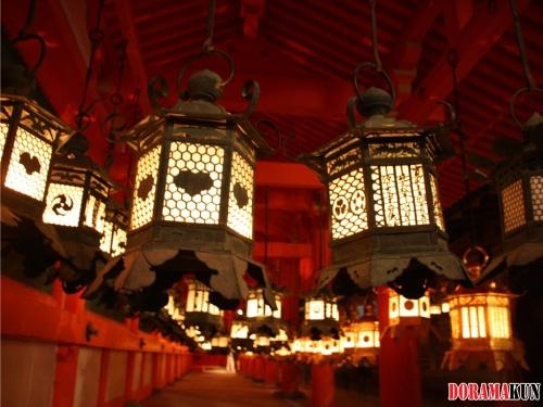 Мандоро - праздник фонарей