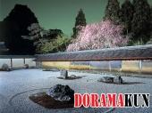 Япония. Рёандзи (Сад камней).