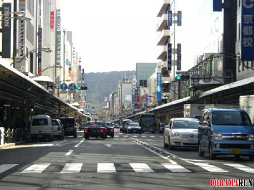 Япония. Сидзё-дори.