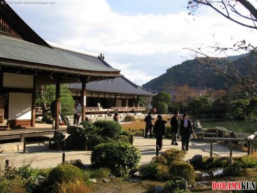 Япония. Храм Тэнрю дзи.