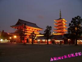 Япония. Восточный храм Тодзи.