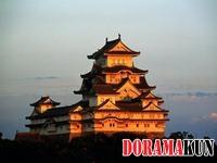 Япония. Замок Белой цапли. Часть 2.