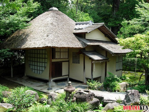Кобори Энсю. Чайный павильон в саду храма Кодайдзи. Первая пол. 17 в. Киото