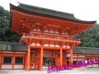 Япония. Храм Симогамо