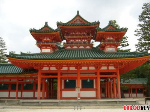 Япония. Храм Хэйан
