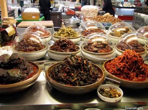 Корея. Еда