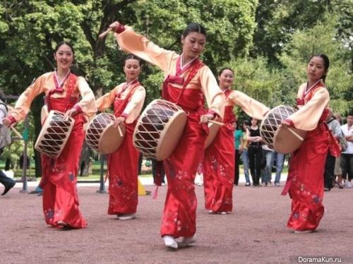 Корея. Традиционная музыка.
