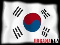 Корея. Национальный флаг.