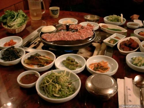 Типично корейские блюда