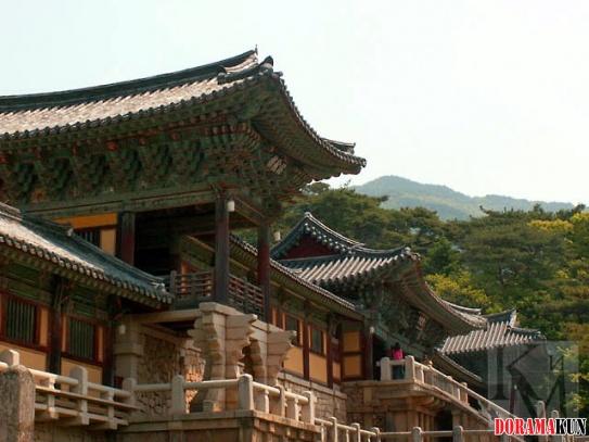 Корея. Храм Пульгукса.