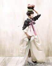 Корея. Женский ханбок.