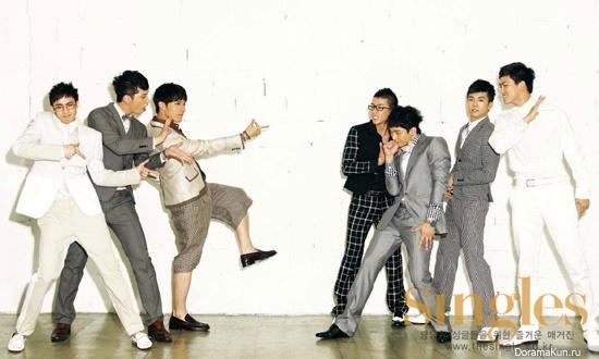 Интервью 2PM для журнала Singles (июль 2011)