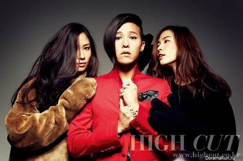 Интервью G-Dragon'а для журнала High Cut