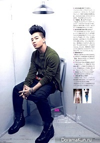Интервью ТхэЯна для журнала Spur