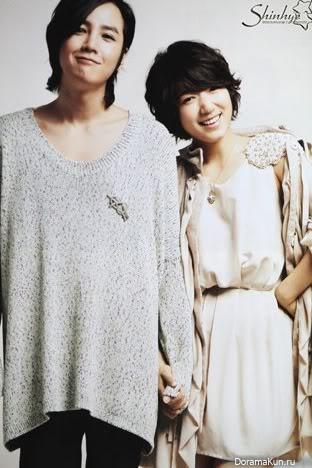 Интервью Чжан Гын Сока (Хван Тхэ Гён) и Парк Шин Хе (Ко Ми Нам/ Ко Ми Нё) для японского журнала Mook