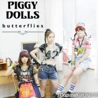 Piggy Dolls – Butterflies
