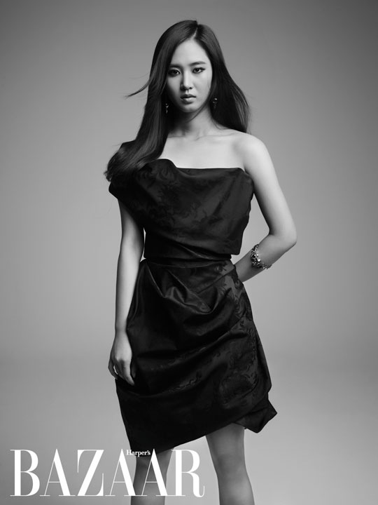 Юри из SNSD украсила обложку Harper's Bazaar