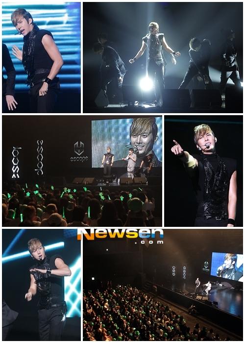 Kим Хенг Чжун успешно провел концерт