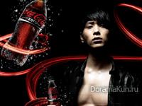 Chansung (2PM) для Coca Cola Zero