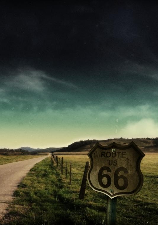 ������ 66 c ����� / Route 66 (YamaPi)