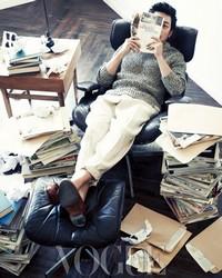 Gong Hyo Jin, Ha Jung Woo для Vogue Korea February 2012
