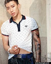 Jay Park для Singles June 2012