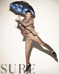 Jo Jung Seok для SURE Korea May 2012