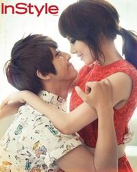 Kim Kibum, Park Ye Jin для InStyle Korea July 2012