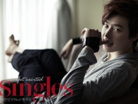 Lee Jong Suk для Singles July 2012