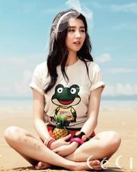 Park Ha Sun для CéCi June 2012