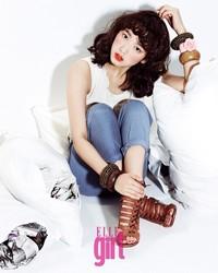 Park Shin Hye для Elle Girl Korea April 2011