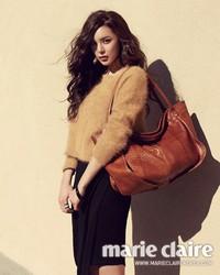 Park Si Yeon для Marie Claire Korea 2012